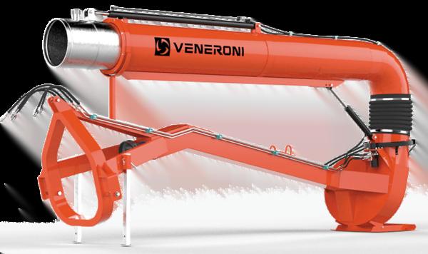 ATS-1 Veneroni Water Pump Tractor Mounted