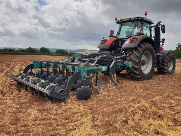 Nardi Gladiator FAST Combined Cultivator in working position