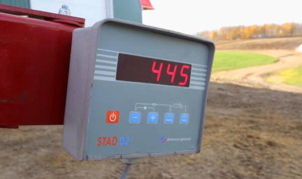 Jaylor A5050 Trailed Mini Mixer Wagon TMR Scales