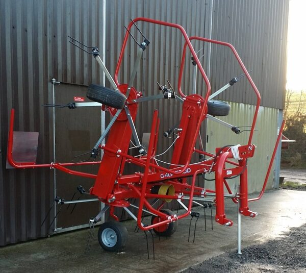 Enorossi Vortex 4 Rotor Tedder folded up in the UK