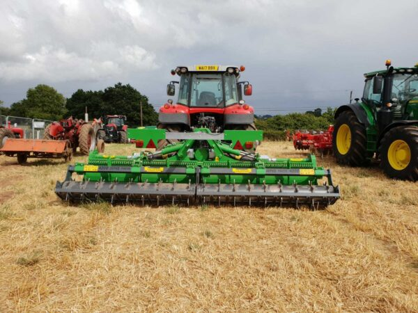 Valentini Superfighter Stone Burier 4.2m working in the UK