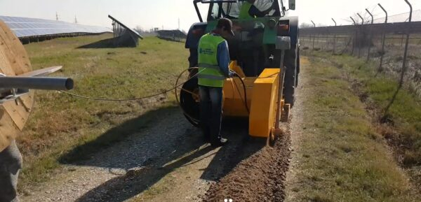 Valentini Trencher with Cable Unroller 2