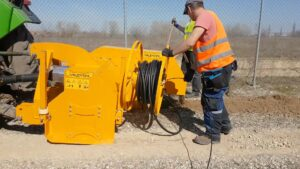 Valentini Trencher with Cable Unroller