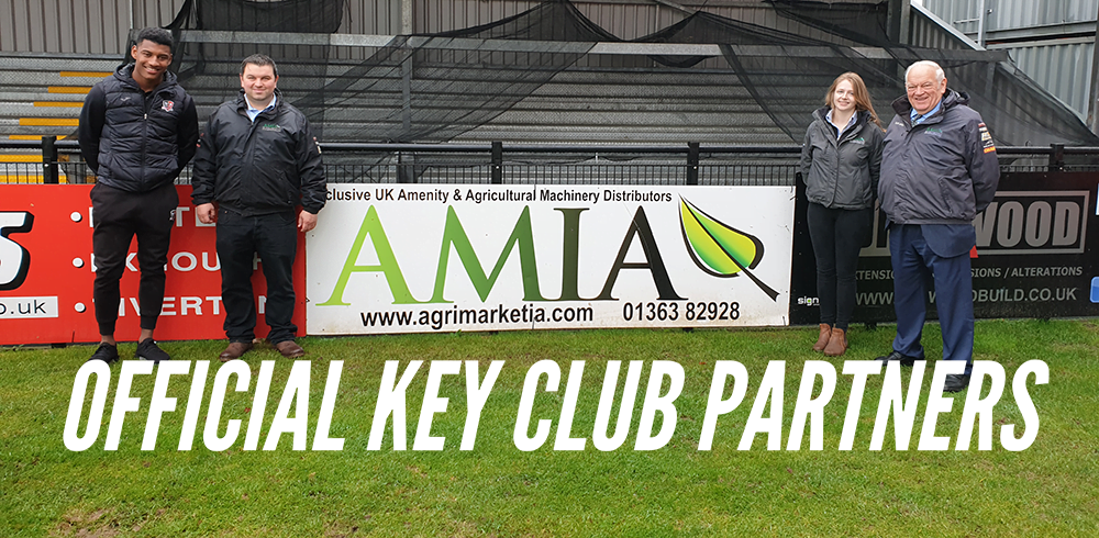 Exeter City FC Official Key Club Partners